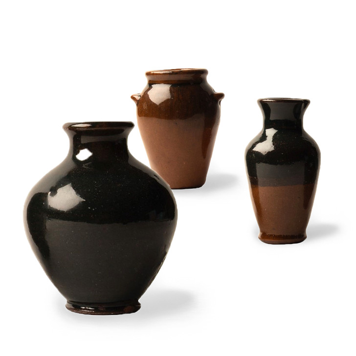 Mini Egyptian Ceramic Jars, Assorted Styles