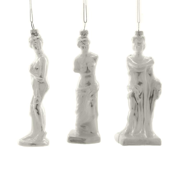 White Venus Ornament, Asstorted Styles