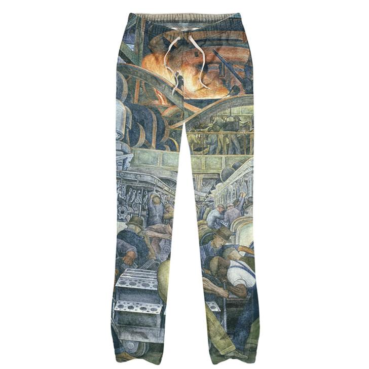 Detroit Industry North Wall, Rivera Pajama Pants