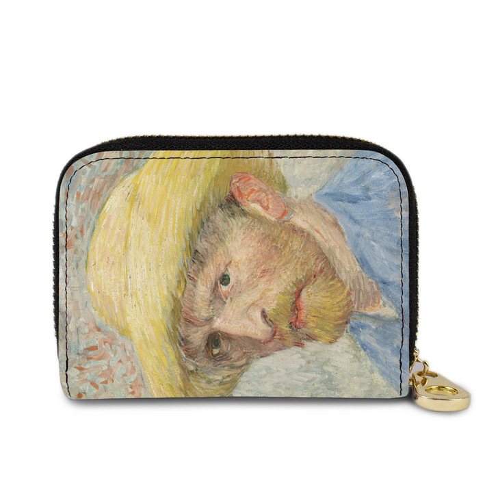 Self-Portrait, Van Gogh Zippered Wallet