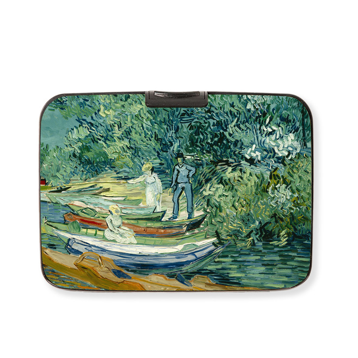Bank of the Oise at Auvers, Van Gogh Armored Wallet