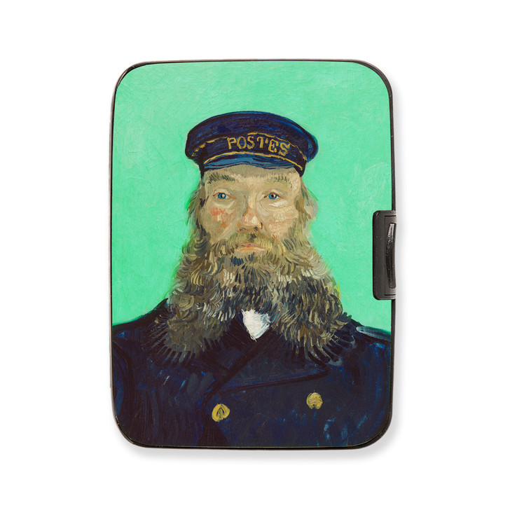 Portrait of Postman Roulin, Van Gogh Armored Wallet