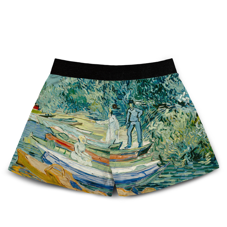 Bank of the Oise at Auvers, Van Gogh Boxers