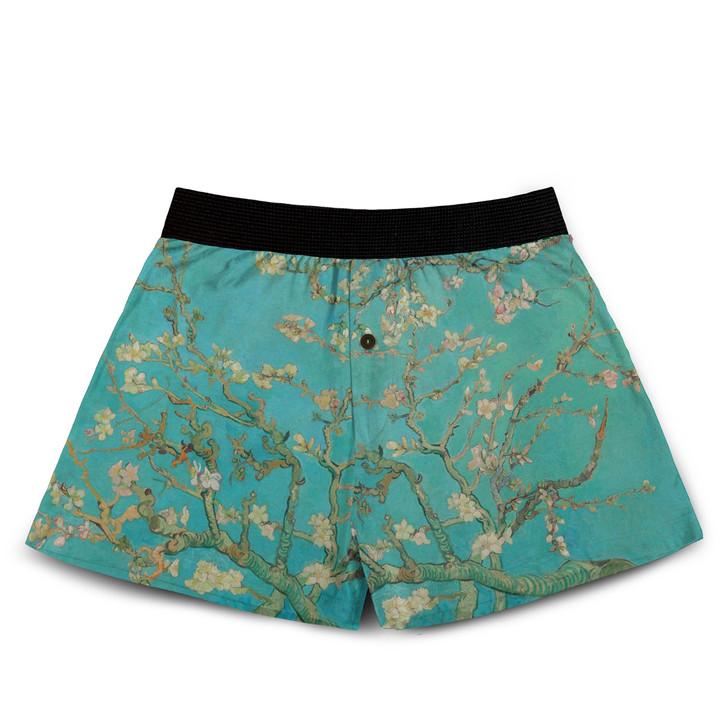 Almond Blossoms, Van Gogh Boxers