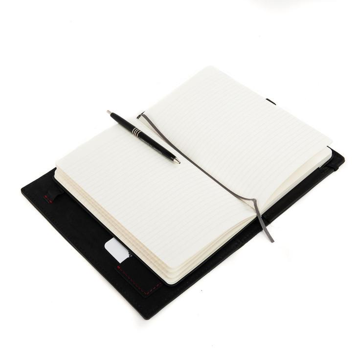 DIA Black Leather Workfolio Journal Cover