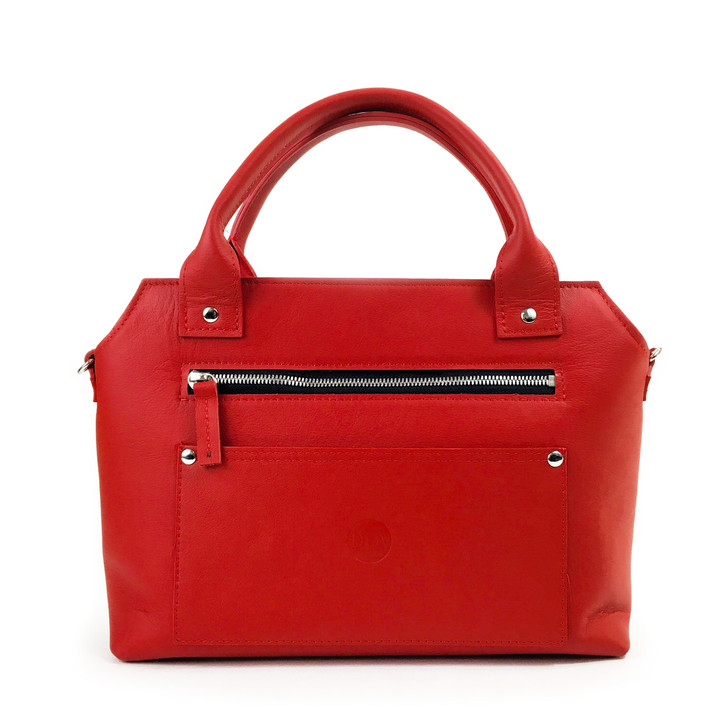 DIA Red Leather Beaubien Purse