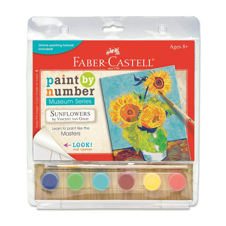 Sunflowers, Van Gogh Paint-by-Numbers