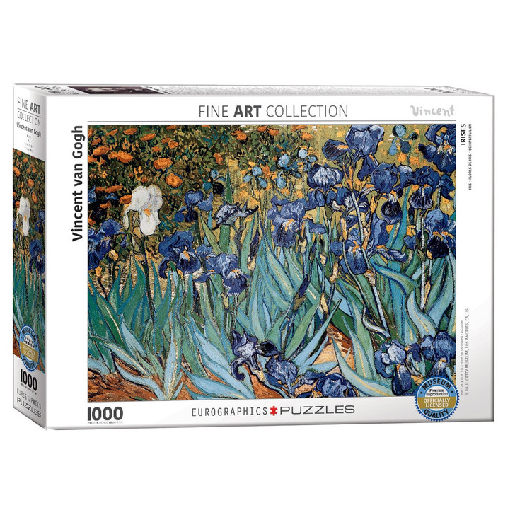 Irises, by Van Gogh Puzzle
