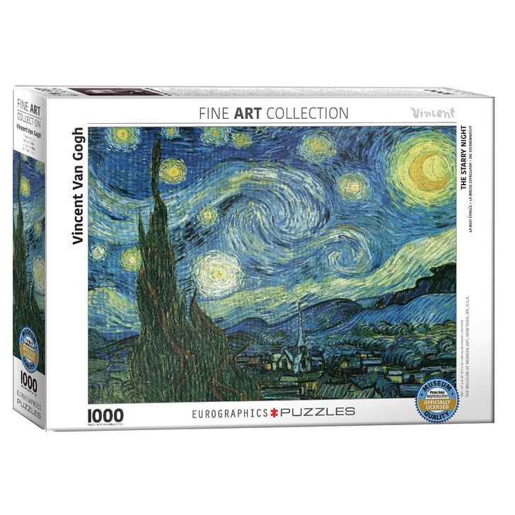 Starry Night, Van Gogh Puzzle