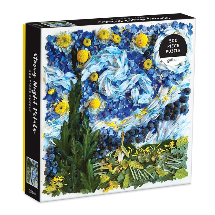 Starry Night Petals Puzzle