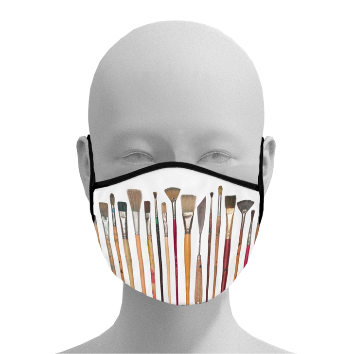 Artist Brushes Face Mask