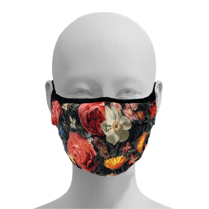 A Bouquet of Flowers, Peeters Face Mask