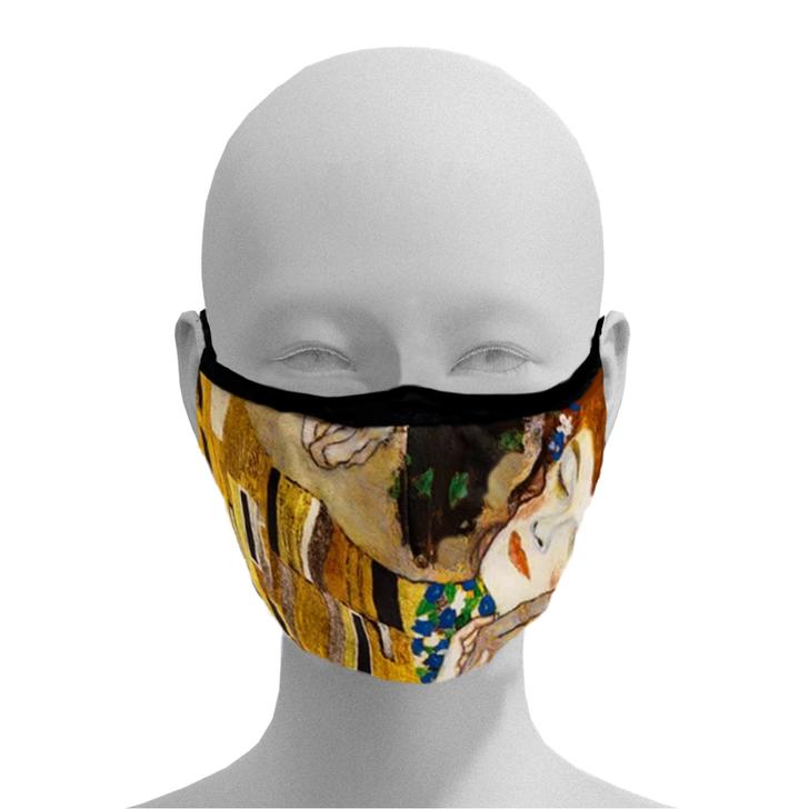 The Kiss, Klimt Face Mask
