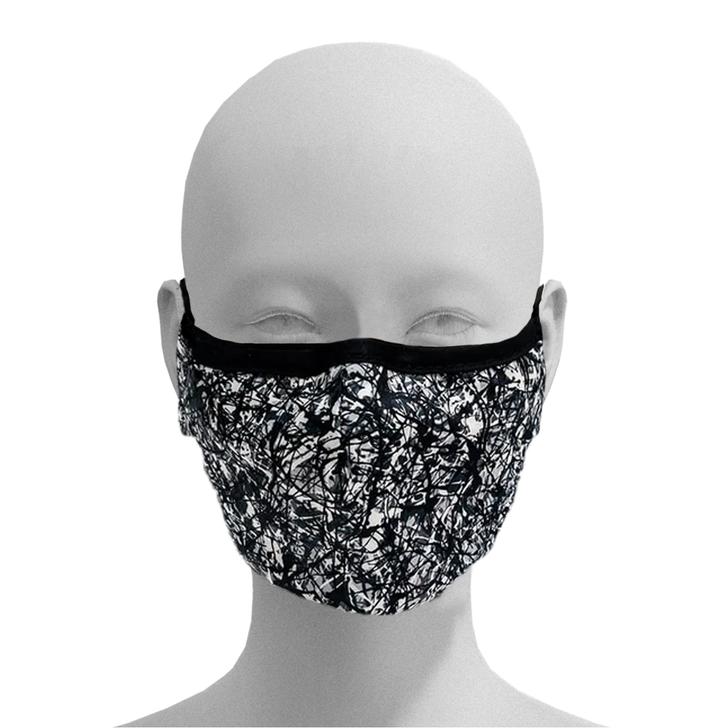 Paint Splashed Face Mask