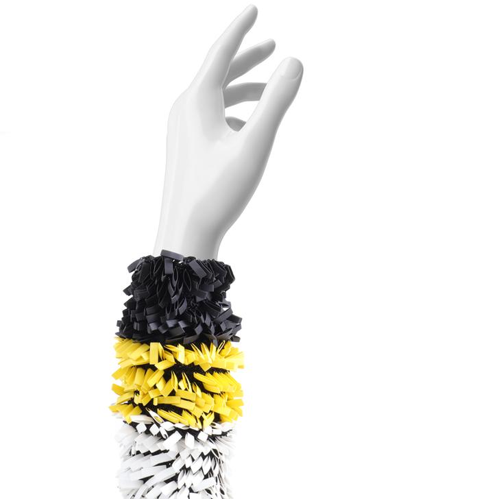 Hand Crocheted Rubber Bracelet