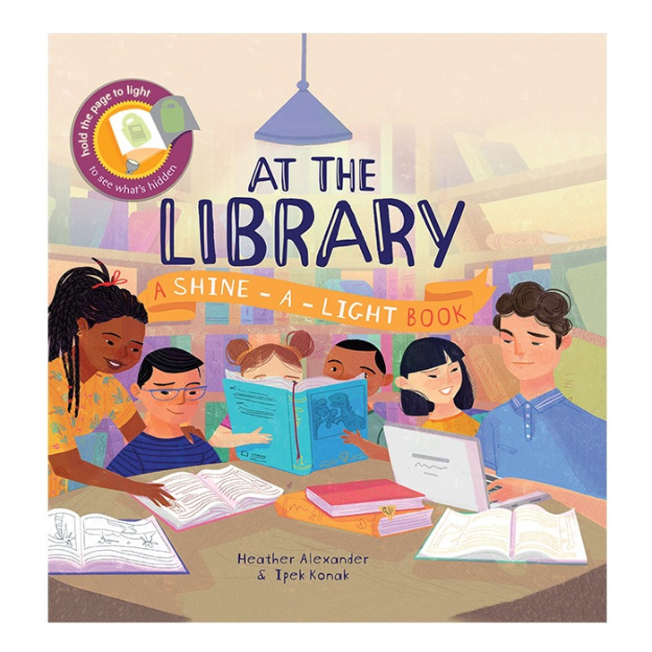 At the Library - Shine-a-Light