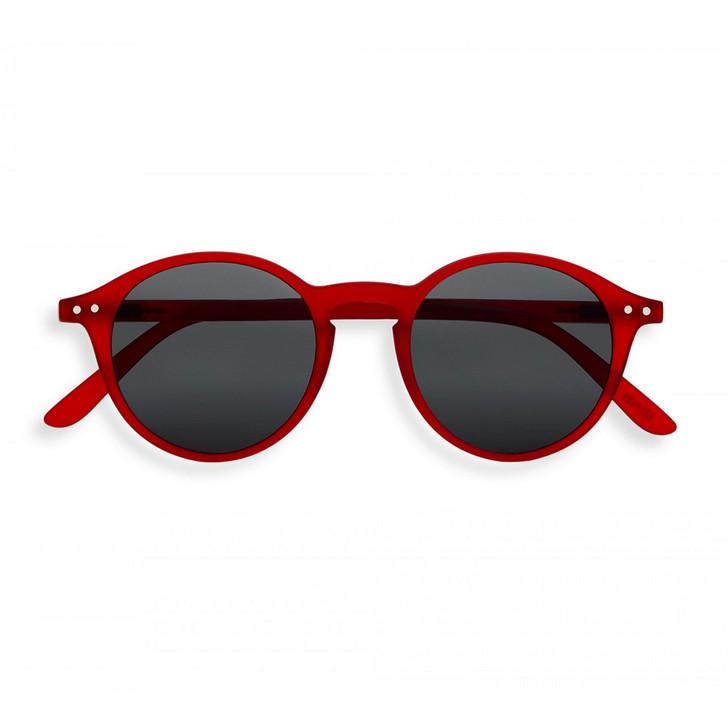 #D Red Crystal UV Sunglasses