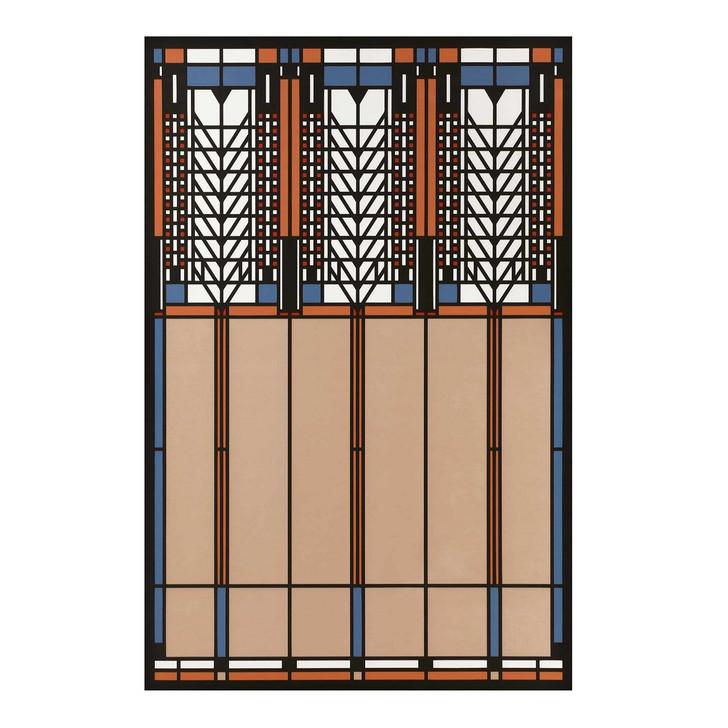 Frank Lloyd Wright Tree of Life Floor Cloth