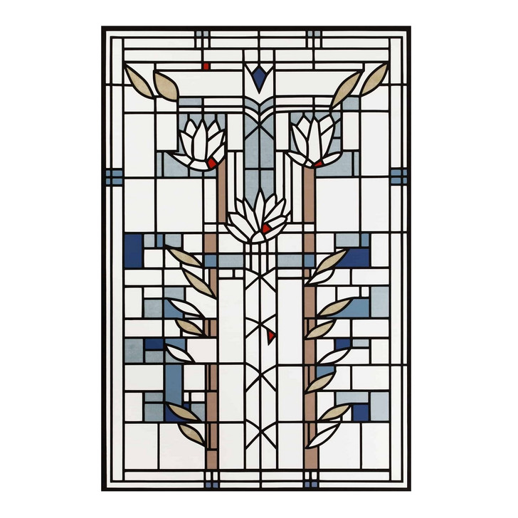 Frank Lloyd Wright Waterlilies Floor Cloth