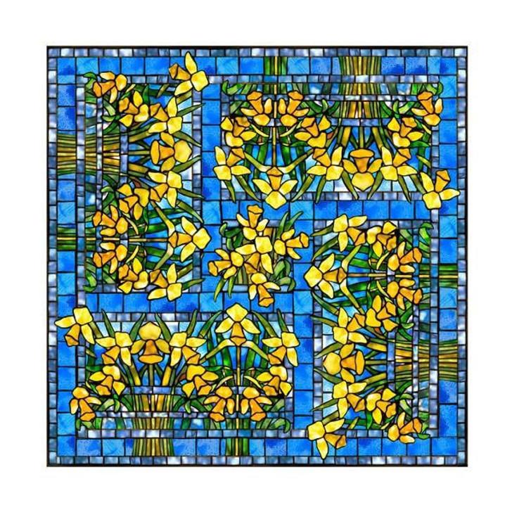 Daffodil, Tiffany Scarf