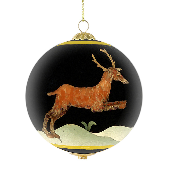 """DIA Collectible Ornament 6th Annual Limited Edition, """"Leaping Stag"""""""