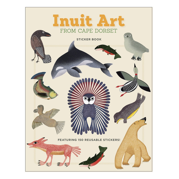 Inuit Art Sticker Book