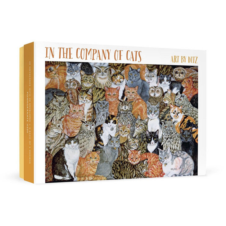 In the Company of Cats, Ditz Boxed Notecards