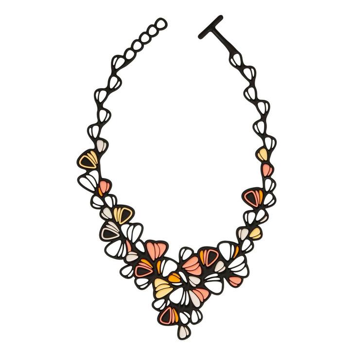 Dahlia Multicolor Necklace