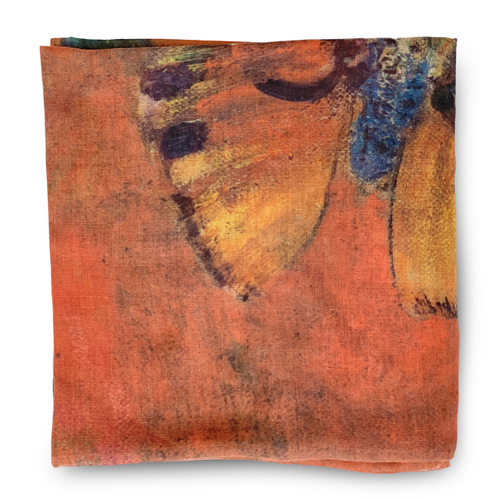 Evocation of Butterflies, Redon Poly Scarf