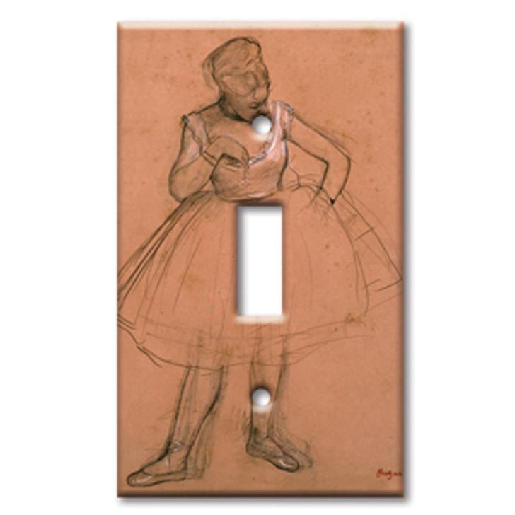 Switch Plate Single Degas Dancer