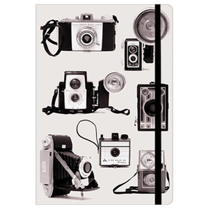 Vintage Cameras Essential Everyday Lined Journal