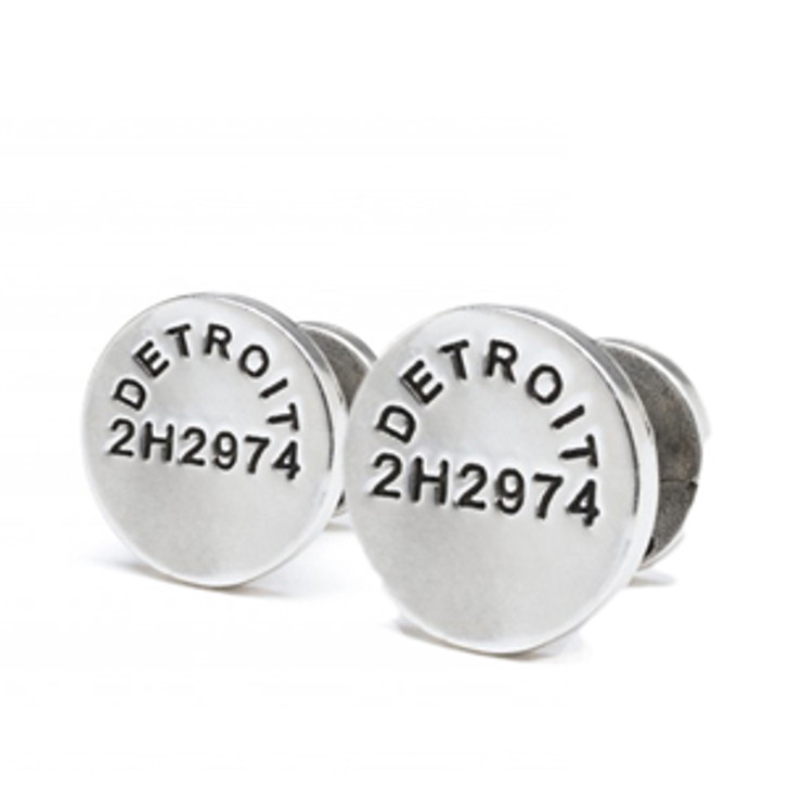 Caliber Detroit Steel Cuff Links