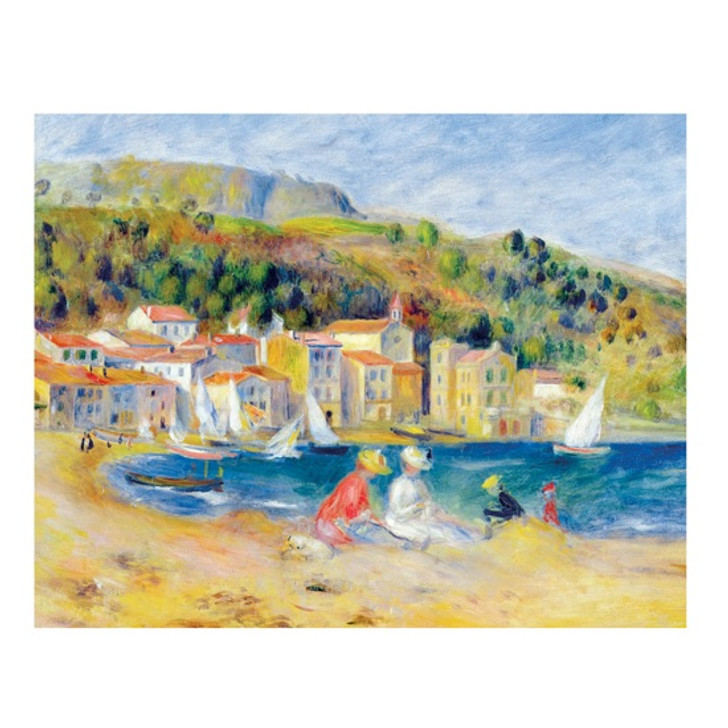 Impressionists By The Water Fliptop Boxed Notecards