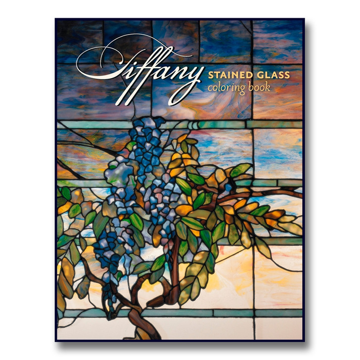 - Tiffany Stained Glass Coloring Book - Detroit Institute Of Arts Museum Shop