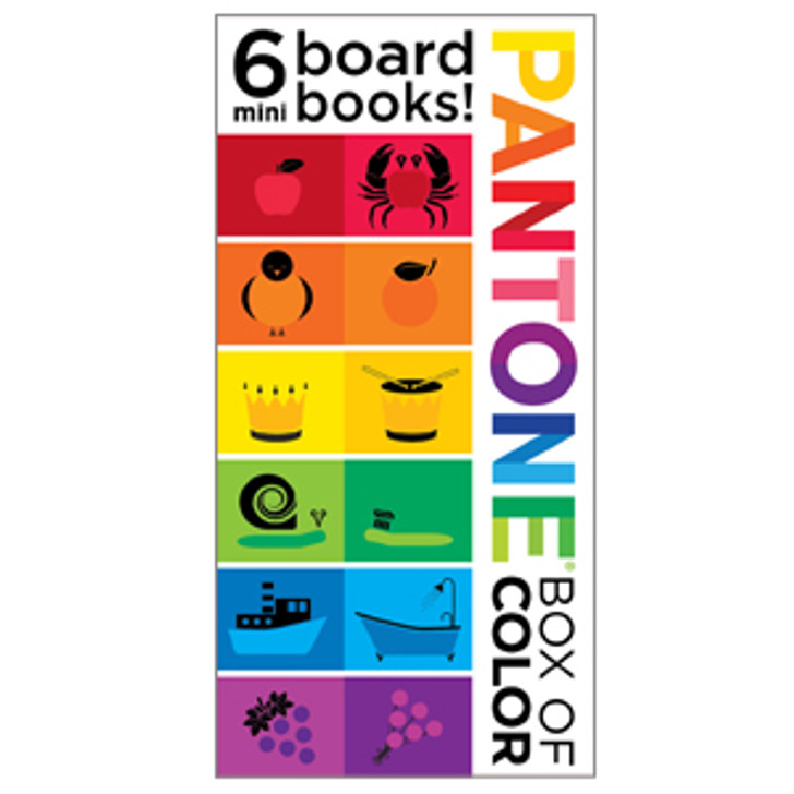 Pantone: Box of Color--6 Mini Board Books!