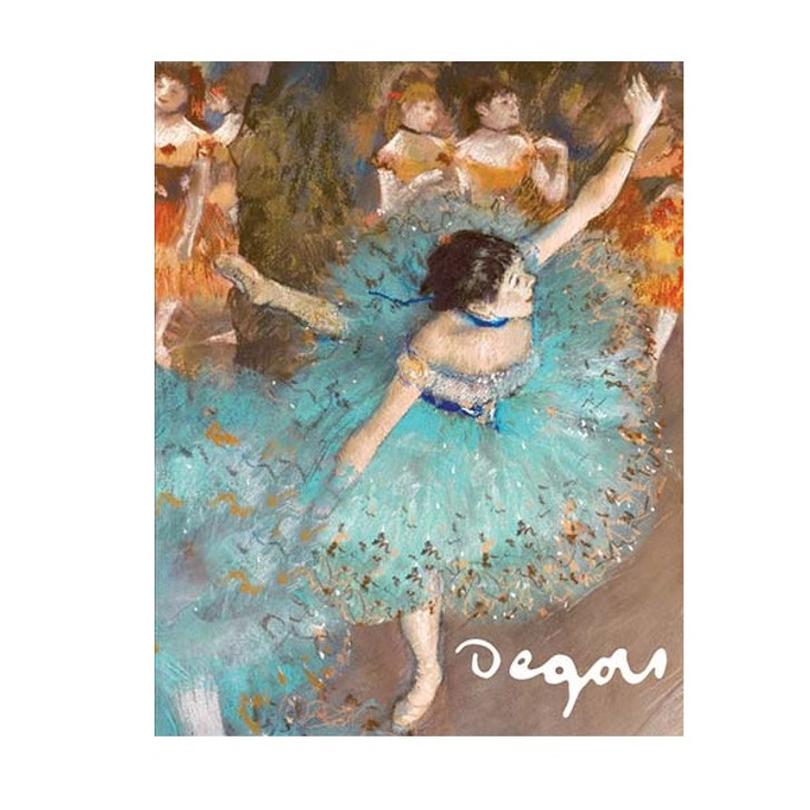 Degas Dancers Fliptop Boxed Notecards