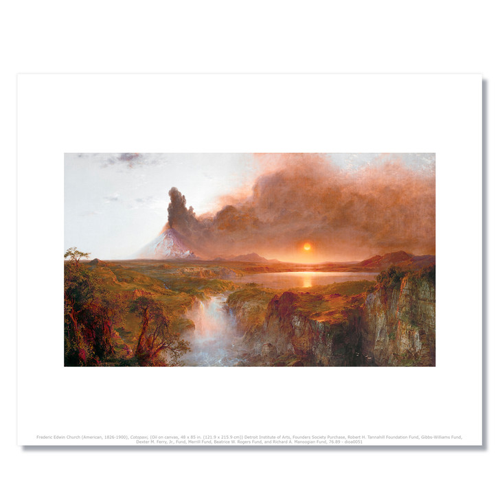 Church's Cotopaxi Archival Print
