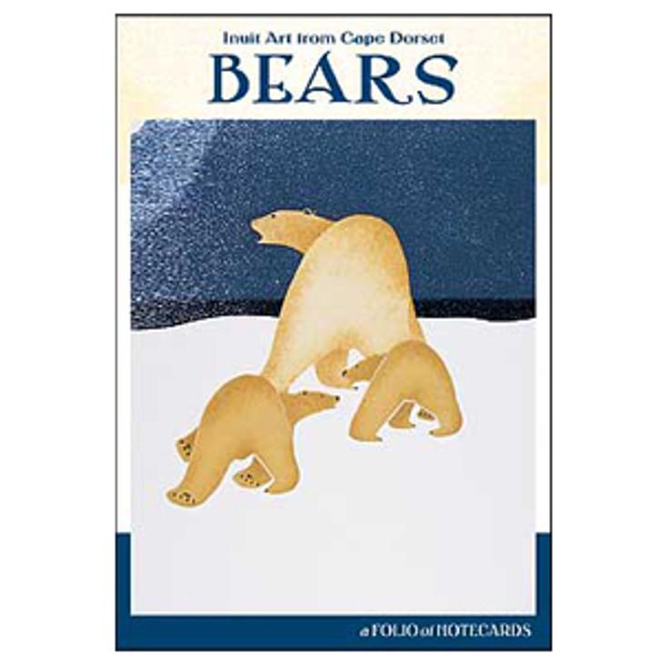Inuit Art from Cape Dorset Bears Notecard Folio