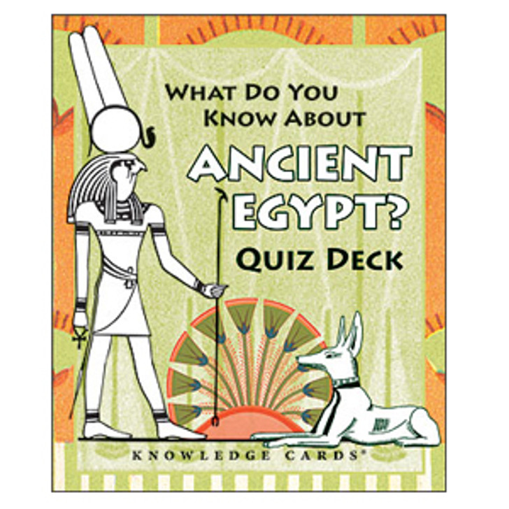 What Do You Know About Ancient Egypt Quiz Deck