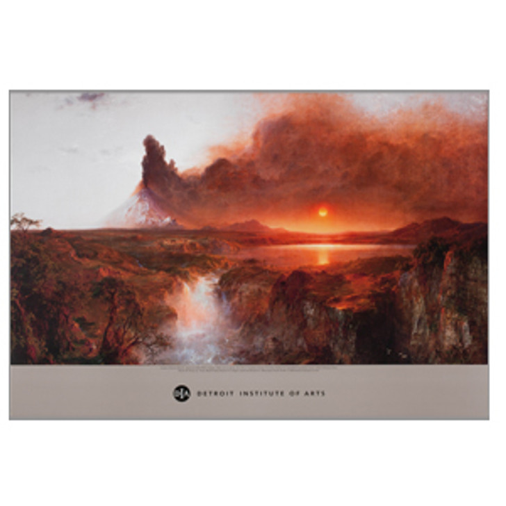 Cotopaxi by Frederic Edwin Church Poster