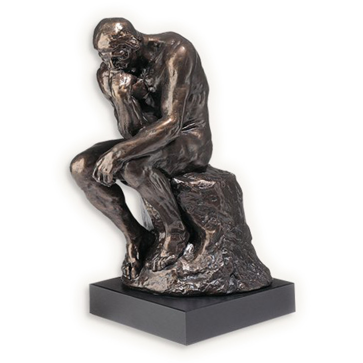 Rodin's The Thinker Sculpture Small