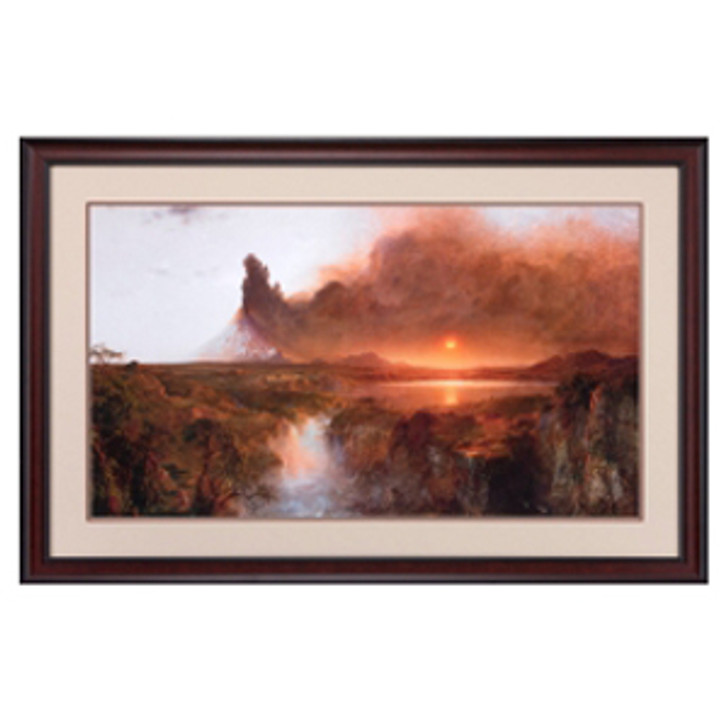 Cotopaxi, Church Framed Poster