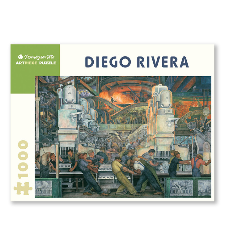 Diego Rivera Detroit Industry Murals North Wall Puzzle