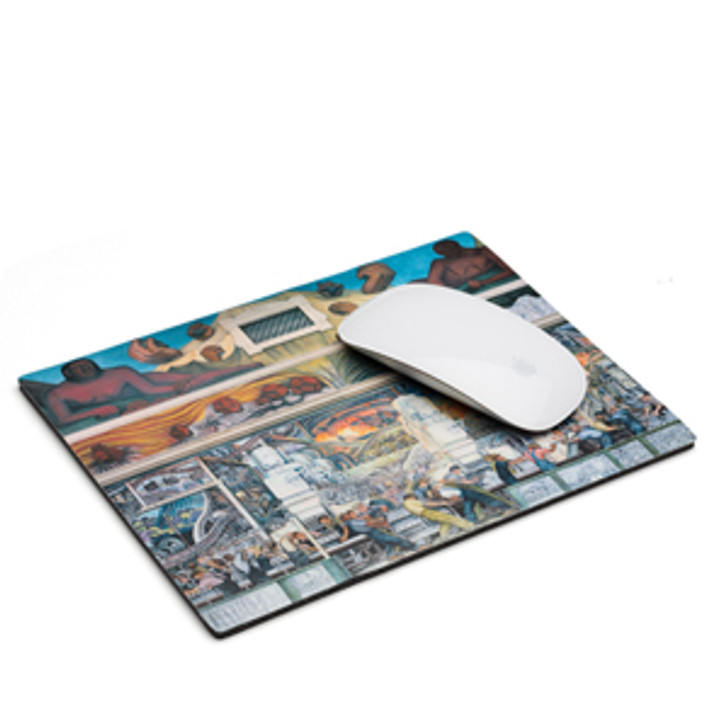 Diego Rivera Detroit Industry Murals North Wall Mouse Pad