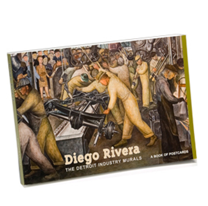 Diego Rivera Detroit Industry Murals Postcard Book