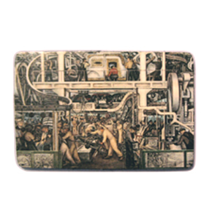 Diego Rivera Detroit Industry Murals South Wall Magnet