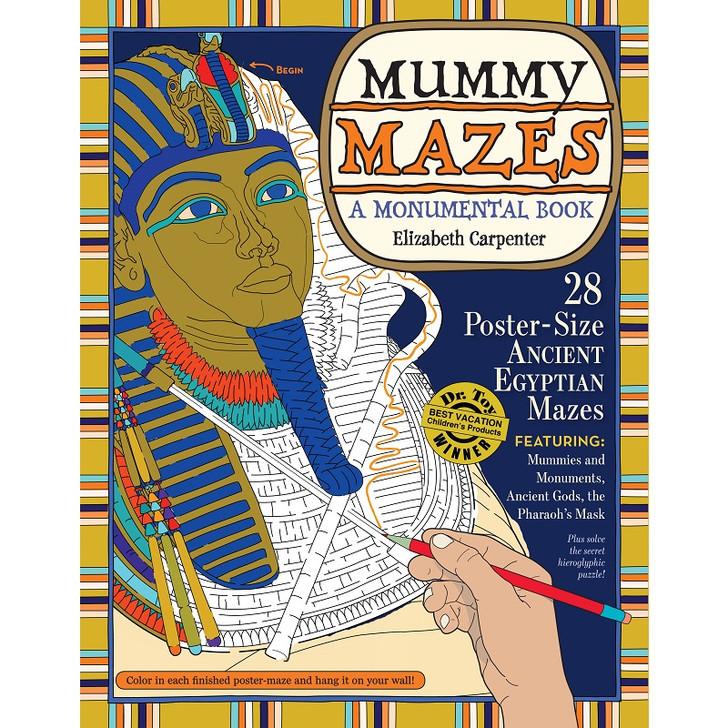 Mummy Mazes - A Monumental Book