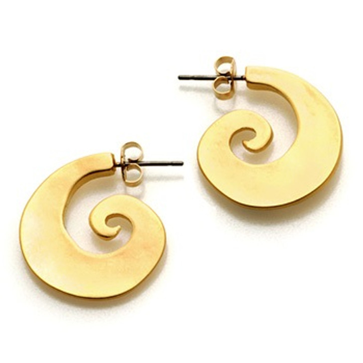 T'ang Dynasty Gold Earrings