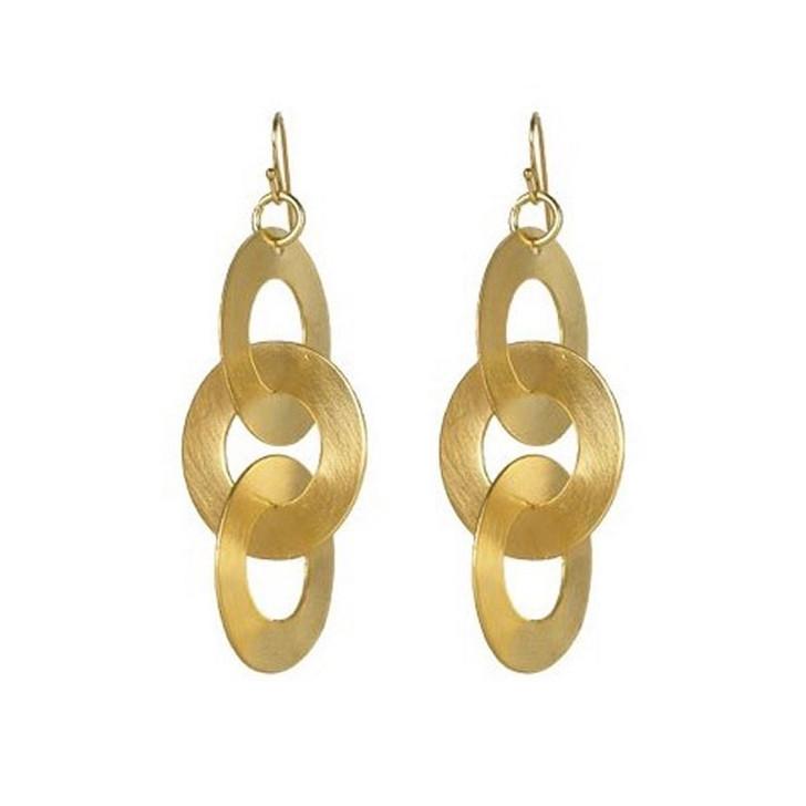 Rihana Circle of Life Earrings