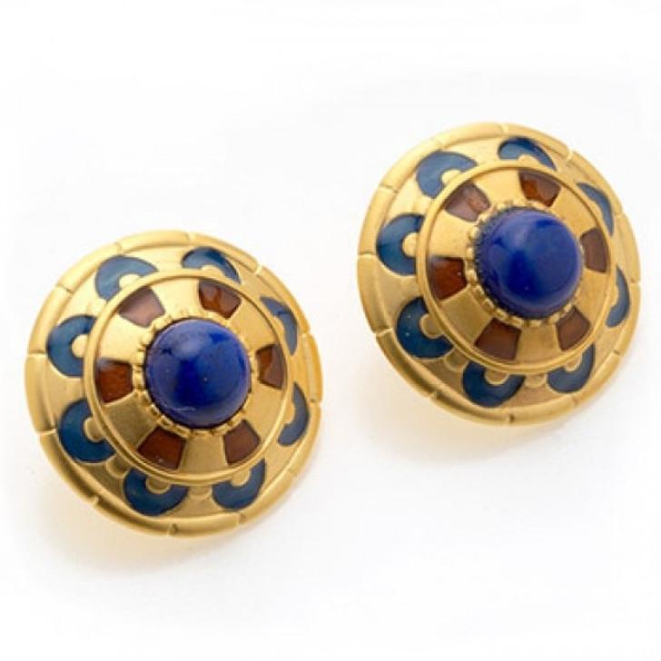 Royal Egyptian Clip Earrings